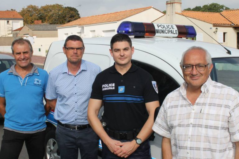 Police Municipale - Crédit photo Courrier Vendéen